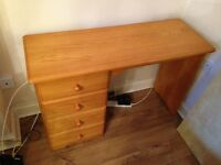 Excellent Value - Solid Pine Desk / Dressing Table