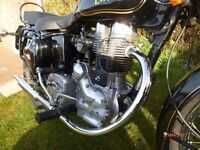 ROYAL ENFIELD BULLET 350, 2008, NEW MOT, EXCELLENT CONDITION, GENUINE 2,800 MILES