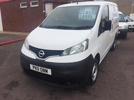 nissan nv200 new cambelt and water pump and 12 months mot only £4495 no vat