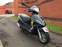 2015 (65) PIAGGIO FLY 125 WITH 6 MONTHS WARRANTY AND NATIONWIDE RECOVERY, FINANCE PX
