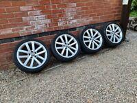 "Volkswagen Vancouver Alloy Wheels 18"" VW Golf 5k0601025l 5x112"