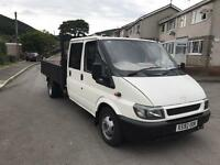 Ford transit crew cab very clean truck