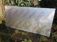 4 Celotex insulation boards measuring 2400mm x 1200mm x 130mm.