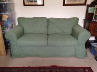 FREE or price of a bottle of wine! IKEA Ektorp sofa, good condition, removable washable cover