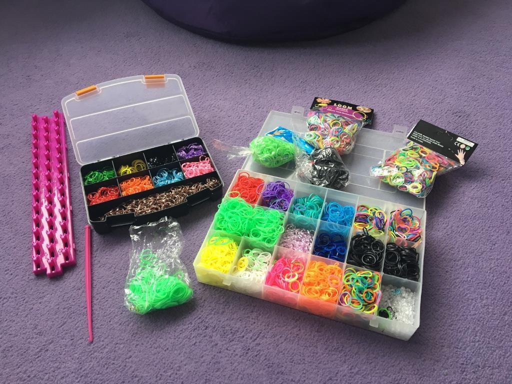 Loom band maker and bands