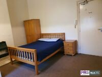 Fully furnished studio flat in great Bradford BD8 location, bills included. Next to Lister Park.