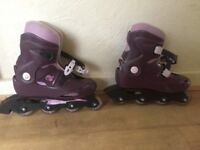 Decathlon Inline skates with protective wear pack