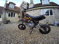 140cc Pit bike. Brand new engine. (Stomp, demon x, M2R, 125, crosser, Motox)