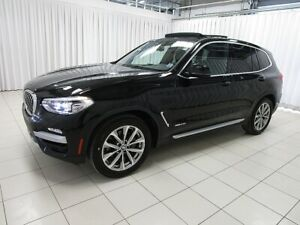 2018 BMW X3 IT'S A MUST SEE! 30i x-DRIVE AWD TURBO LUXURY SUV