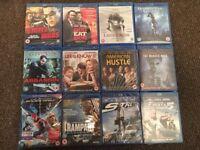 12 Brand New Blu-Ray Movies Film Bundle