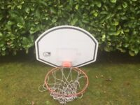 Basket Ball Ring / Hoop and Back Board