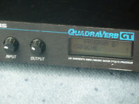 Alesis Quadraverb GT effects / echo unit with 90 named Shadows presets.