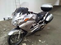 Honda ST 1300 pan european engine ,fork ,tyre wheel panel ,swinging arm, fuel tank,brake