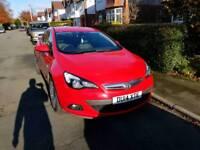 Vauxhall Astra 1.4 GTC SRI Red 138 bhp