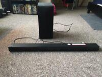 LG Soundbar & Wireless Subwoofer