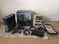 Halo 4 Limited Edition XBOX 360 bundle + 24 Games! 320gb Hard Drive. Perfect Christmas Present