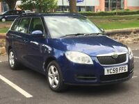 2009 SKODA FABIA 1.2 HTP ESTATE * 1 YEAR MOT * S.HISTORY * JUST SERVICED * PART EX * DELIVERY *