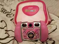 Pink kiddi zoom with Carry case