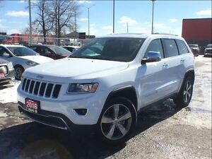 2016 Jeep Grand Cherokee LIMITED**LEATHER**NAVIGATION**SUNROOF**