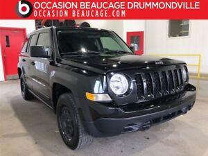 2015 Jeep Patriot SPORT- AUTOMATIQUE- AUBAINE- JAMAIS ACCIDENTÉ!
