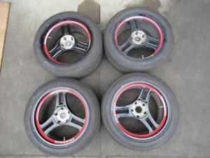 Advan Racing RA3-DT 5x114.3 Mags avec pneus
