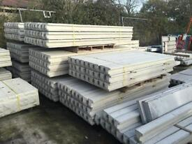 🍁 CONCRETE FENCING POSTS > VARIOUS SIZES > NEW