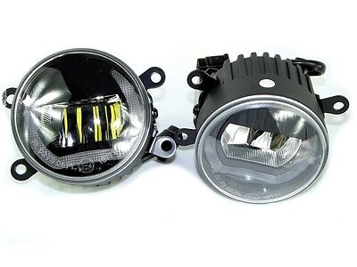 DUOLIGHT V2 Tagfahrlicht + Nebelscheinwerfer LED OPEL Black-Cree DRL + FOG DL23