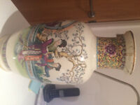 Chinese porcelain baluster vase