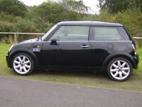 Mini One In Stunning Black With Twin Electric Panoramic Roof-17 Inch Alloys only £1450