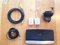 USED BT Home Hub 4 300 Mbps Gigabit Wireless N Router (68340)