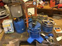 Lumogaz camping lamp And cooking equipment