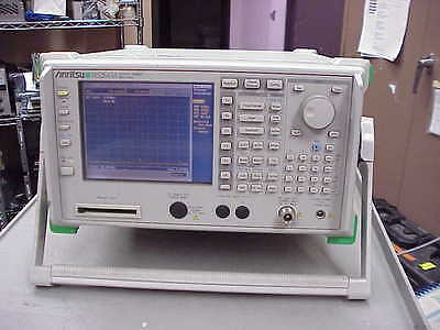 Anritsu Ms2683a 03 9khz-7.8ghz Spectrum Analyzer