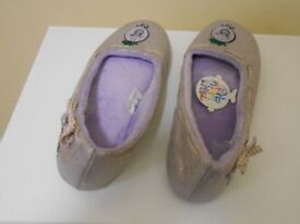 Little Miss Naughty Slippers size 6 New with tags