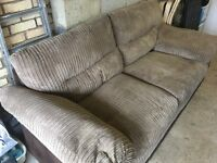 DFS Sofa - less than a year old in very good condition - 2m wide..