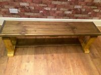 BENCH MADE FROM RECLAIMED WOOD - EXCELLENT QUALITY - CAN DELIVER