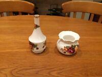 Royal Albert china single flower vase