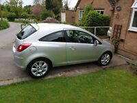 Vauxhall Corsa, Great condition, low mileage, fuel efficient