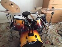 Pearl ELX Export Series Drum Kit + Cymbals