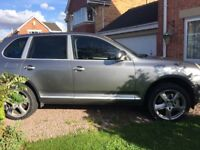 Porsche Cayenne S 4.5 Petrol drives and looks superb Really quick Personal Reg inc