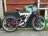"""Girls bike - 20"""" wheels"""