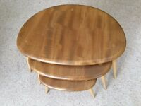 Ercol Windsor Pebble Nest of Tables