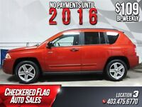 2008 Jeep Compass North W/ 4X4-New Tires-Alloy Wheels-Low KM's