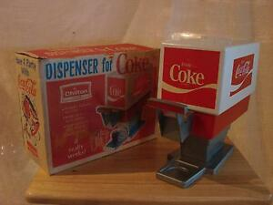 Vintage Children's Toy Coca Cola Dispenser (1960's)