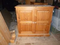 SOLID PINE STUDY OR OFFICE CUPBOARD