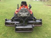 Huxley TR66 Hydraulic Reel Mower for compact tractor. Powered from pto.