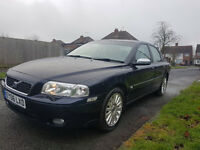 Volvo S80 2.4 d5 auto lux 2006. fll mot / full service history / low miles.