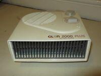 GLEN Plus Fan Heater 2000 Watts. £12.00.
