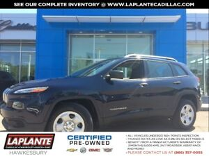 2015 Jeep Cherokee Sport + One Owner + Heated Seats