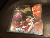 PlayStation 1 space jam game. Ps1
