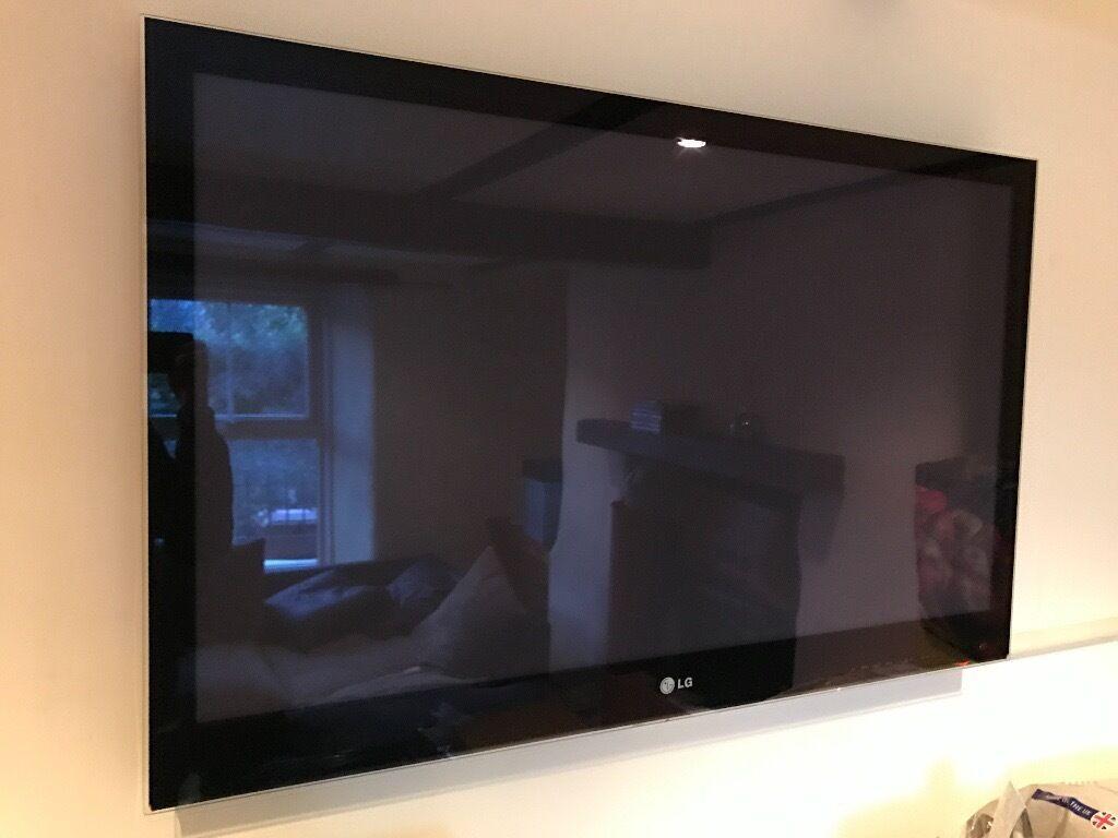 """42"""" LG PLASMA HD TV - with wall bracket  for Lg Plasma Tv On Wall  303mzq"""